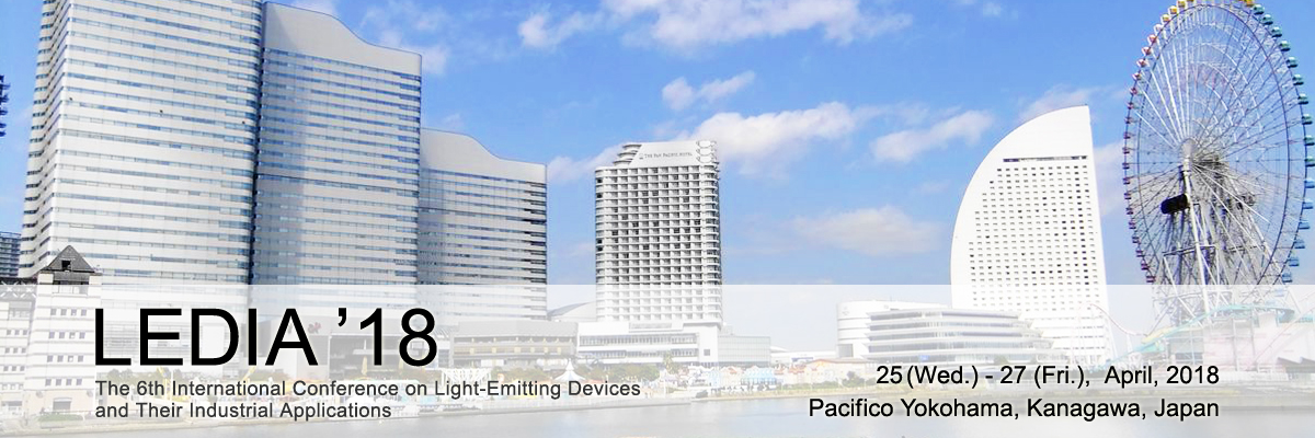 LEDIA'18 | The 6th International Conference on Light-Emitting Devices and Their Industrial Applications